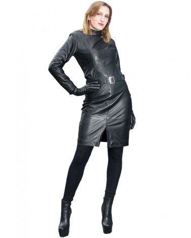 Leatherskirt Clara Black