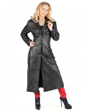 Leather Coat Lola black...