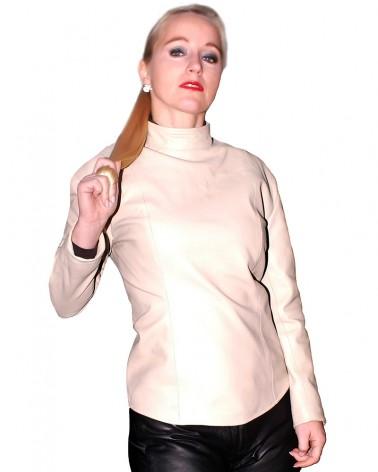 Leathertop Long Sleeve Black