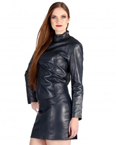 Leathertop Long Sleeve...