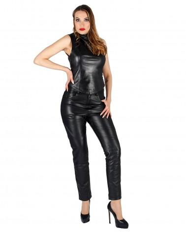 Leatherpants Katy Black