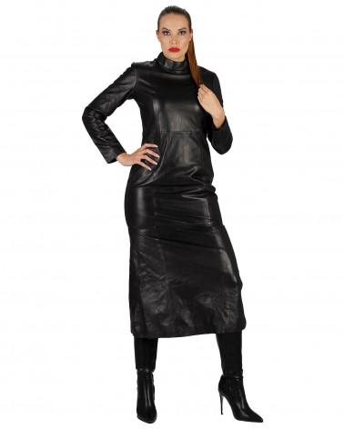 Leather dress Tina short...