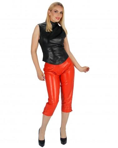Capri Lederhose Lina Orange...