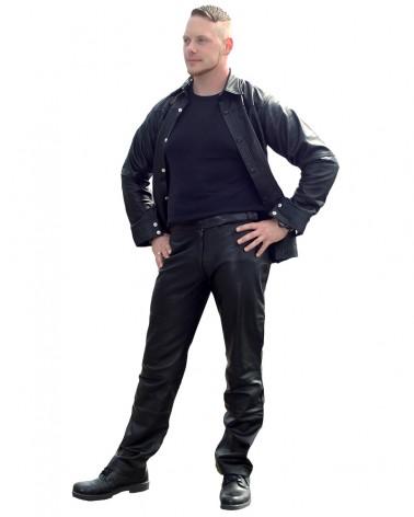 Leatherpants Belt Black